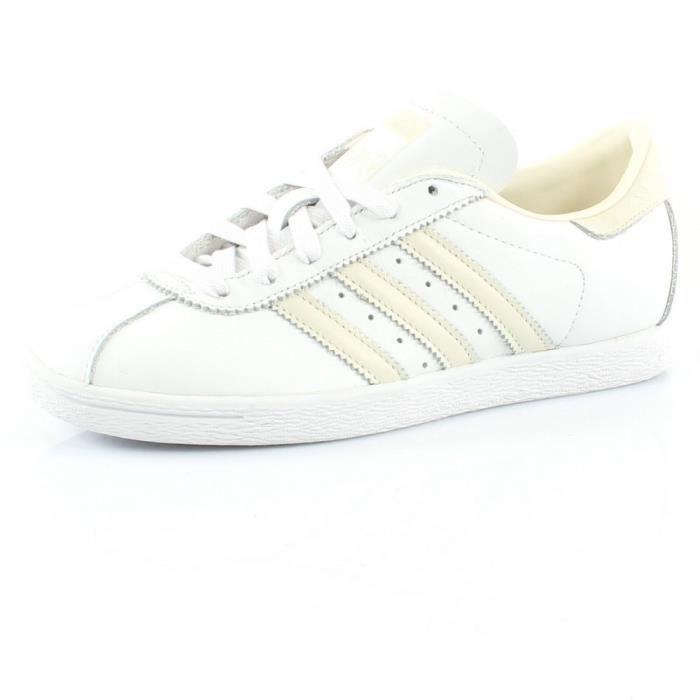 Adidas Superstar Foundation B27136 Blanc Blanc - Achat / Vente basket  - Soldes* dès le 27 juin ! Cdiscount