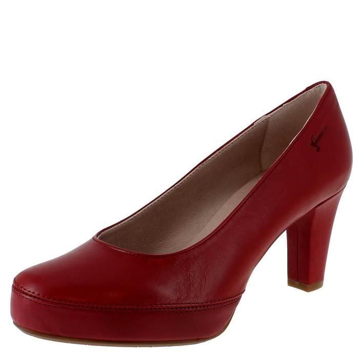 c97719c6cfd0 Escarpins blesa femme dorking 5794 Rouge Rouge - Achat   Vente ...