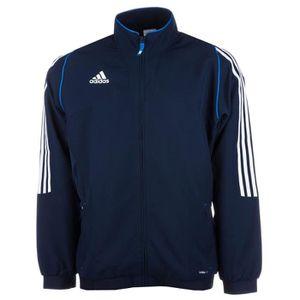 veste adidas bleu homme