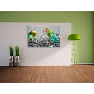 tableau perroquet achat vente tableau perroquet pas cher cdiscount. Black Bedroom Furniture Sets. Home Design Ideas