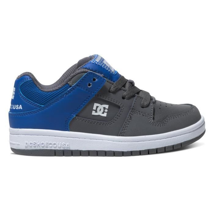 DC SHOES Manteca Chaussure Garcon - Taille 33 - GRIS