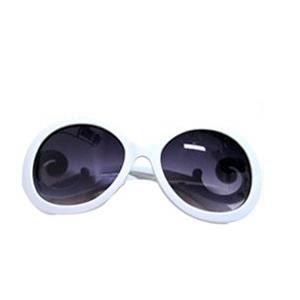 Lunettes de soleil arabesque blanche Blanc - Achat   Vente lunettes ... f60b2e24e1c6