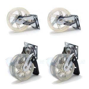 Roulette pivotante avec frein achat vente pas cher - Roulette pour meuble avec frein ...