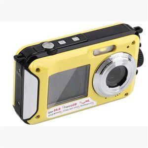 APPAREIL PHOTO HYBRIDE Appareil photo numérique caméra étanche double écr