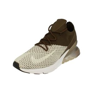 BASKET Nike Air Max 270 Flyknit Hommes Running Trainers A