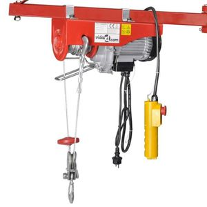 TREUIL - PALAN Palan électrique 500 W 100-200 kg