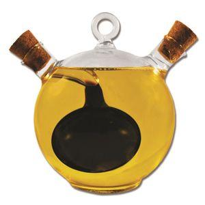OLIVE Bouteille distributrice à double verre d'huile d'o