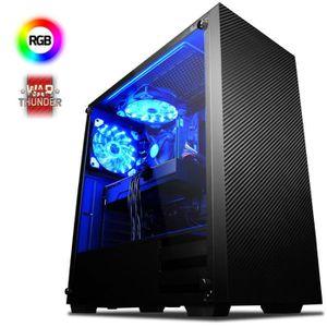 UNITÉ CENTRALE  VIBOX Kaleidos GS860-7 PC Gamer - AMD 8-Core, Gefo