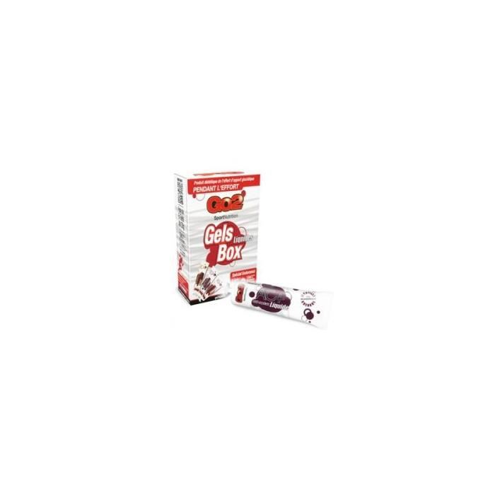 NUTRISENS Complément alimentaire - Tube de 35g de gel énergétique liquide antioxydant AC+ - Myrtille/Grenade