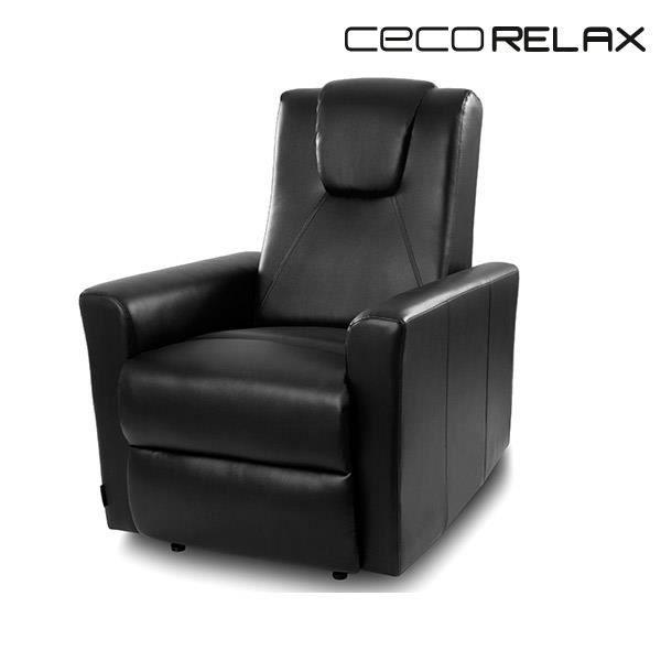 fauteuil relax manuel noir achat vente fauteuil relax manuel noir pas cher cdiscount
