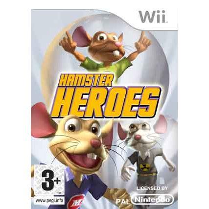 JEU WII WII HAMSTER HEROES