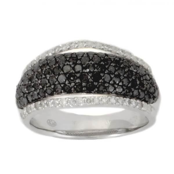 Bague Argent:4.30 Gr Diamant:1.2…