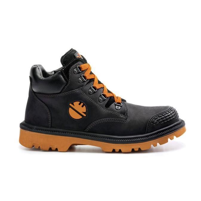 chaussures de s curit dike homme digger noir noir achat vente chaussures de securit