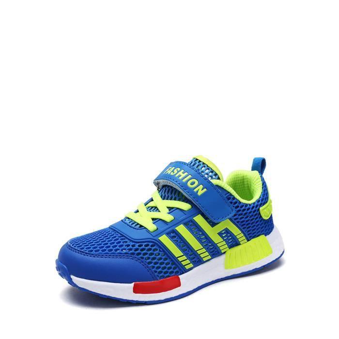 Sport de garçon Chaussures velcro Respirant Léger Chaussures enfants 5174326