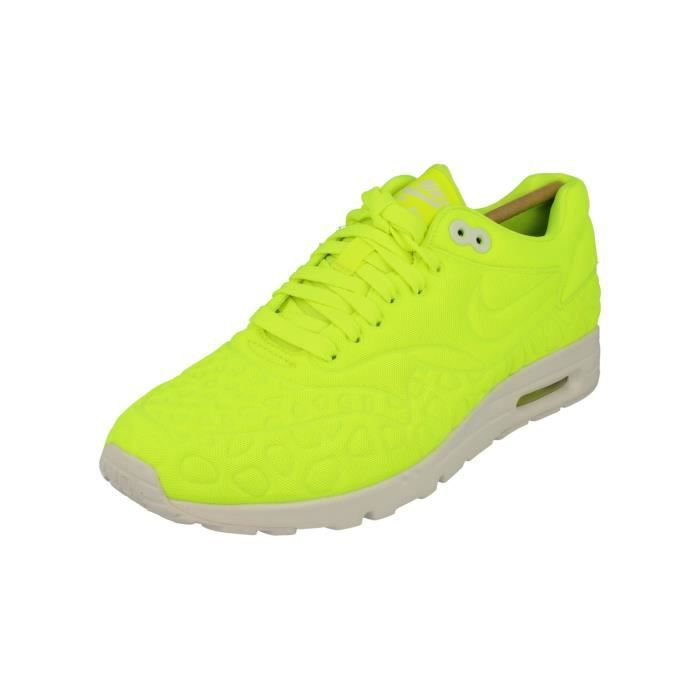 hot sale online 8e9a3 adec5 Nike Femme Air Max 1 Ultra Plush Running Trainers 844882 Sneakers  Chaussures 700