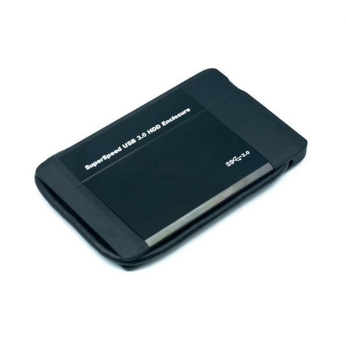 BOITIER POUR COMPOSANT Boîtier disque dur externe 2.5