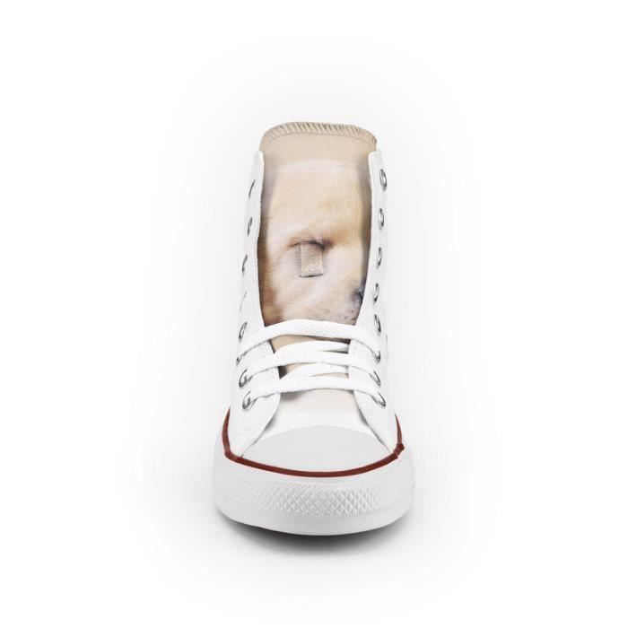 Converse All Star Personnalisé et Imprimés - chaussures à la main - produit Italien - Sweet Dog