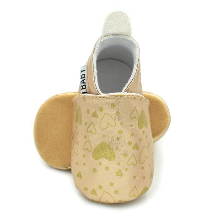 BOTTE Nouveau-né Toddler bébé nourrissons fille garçon chaussures mignonnes antidérapantes douces chaussures@OrHM