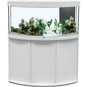 SOUS MEUBLE Meuble Aquarium Fusion 120x50cm Blanc - Aquatlanti