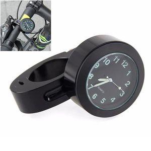 EMBOUTS DE GUIDON Guidon Mount Numérique Horloge Moto Accessoire Imp