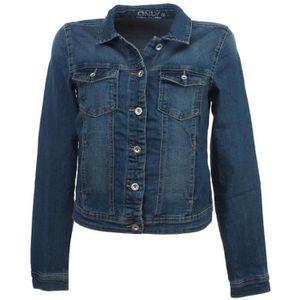 VESTE Vestes demie saison Westa blue jeans jacket l - On