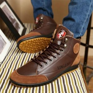 Vintage Tide loisirs Bottes britannique Hommes style Hommes lacent cheville Bottes Simple Chaussures Taille,bleu,6.5