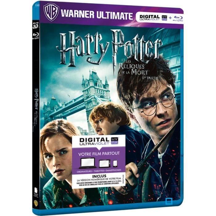 BLU-RAY FILM Blu-Ray Harry Potter 7, vol. 1 : les reliques d...