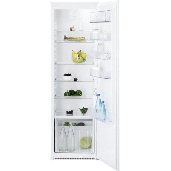 ELECTROLUX ERN3211AOW - Réfrigérateur intégrable 1 porte - 310 L - A+ - Brasseur d'air FreeStore - L