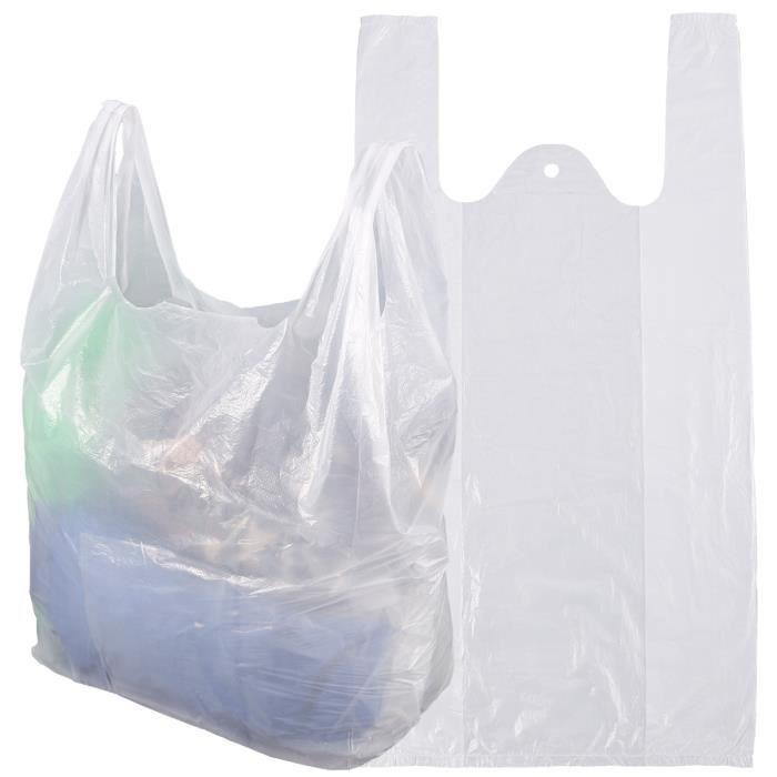 sac plastique cabas achat vente sac plastique cabas pas cher cdiscount. Black Bedroom Furniture Sets. Home Design Ideas