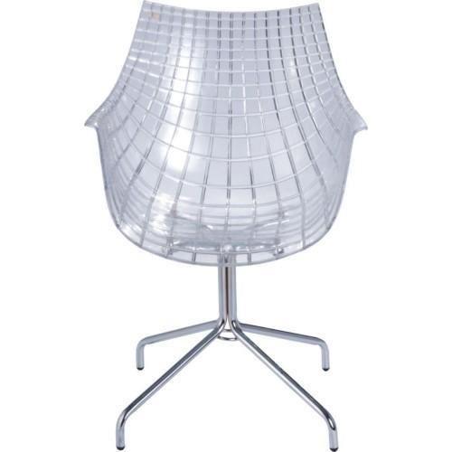 2 Fauteuils Design Transparent Acrylique Polycarbonate Plexiglas