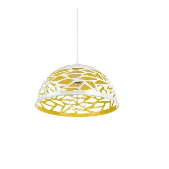 Plafonnier Luminaire Blanc Éclairage Plafond Lampe Minimaliste Lustre De Pendante Moderne Suspension Rétro Style 6IyYbfmg7v