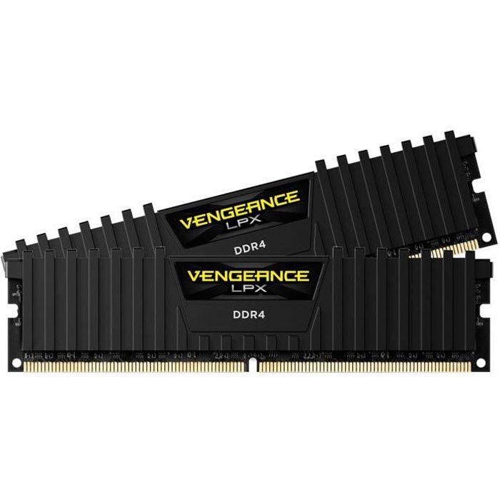 MÉMOIRE RAM CORSAIR Mémoire PC DDR4 - Vengeance LPX 16 Go (2 x