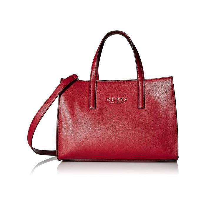 043fa40500 Guess Sac à Main SIENNA 2 IN 1 SOCIETY SATCHEL VG709906 Rouge ...