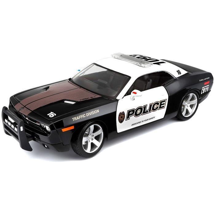 voiture de police 1 18 achat vente jeux et jouets pas chers. Black Bedroom Furniture Sets. Home Design Ideas