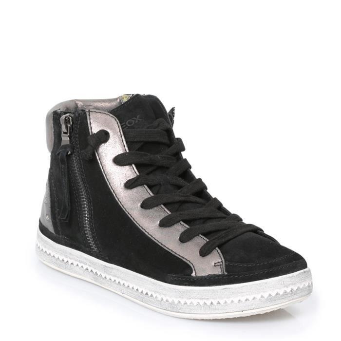 Hi Womens Vente Geox Hidence Basket Noir D Achat Sneakers ED2Ye9WbHI