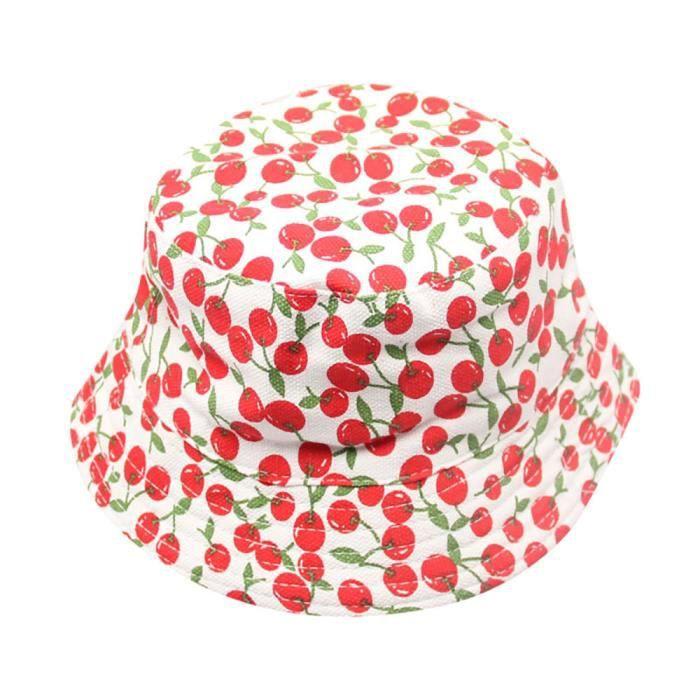 1085f91a8c1 Bébé garçons filles fleurs motif seau chapeau soleil casque pour enfants