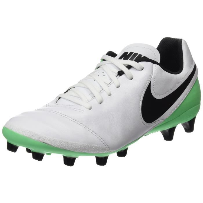 sports shoes cfcf5 747dc CHAUSSURES DE FOOTBALL Nike Tiempo Genio Ii cuir Ag-pro Chaussures Footba
