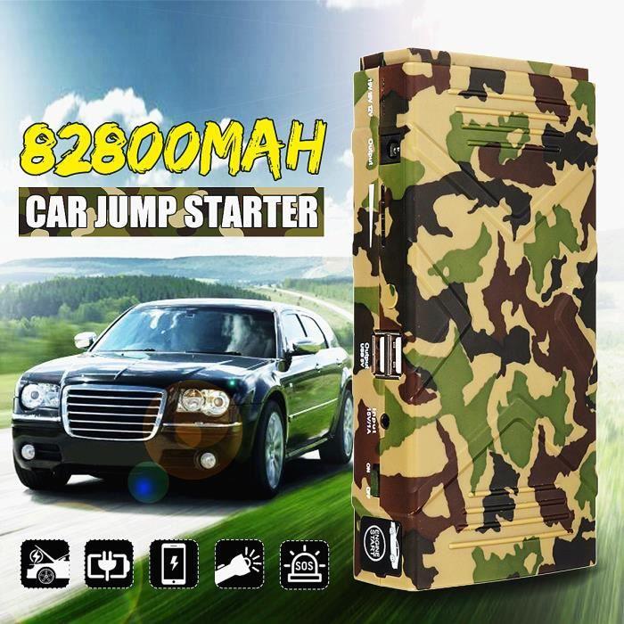 STATION DE DEMARRAGE TEMPSA Jump Starter 82800mAh 12V Chargeur Booster