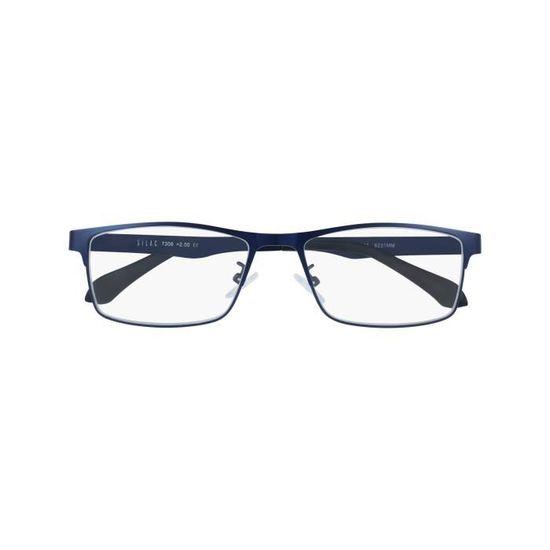 BLUE METAL - Lunettes Loupes de Lecture Homme - Dioptrie 2.25 - Achat    Vente lunettes de lecture - Cdiscount 30e32fe641d3