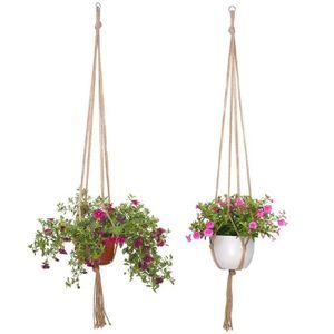 Suspension pour plante achat vente pas cher - Suspension pot de fleur macrame ...