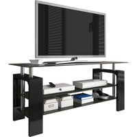 meuble tv design 3 plateaux en verre 110 cm colori Résultat Supérieur 50 Superbe Meuble Tele En Verre Design Photographie 2018 Zat3