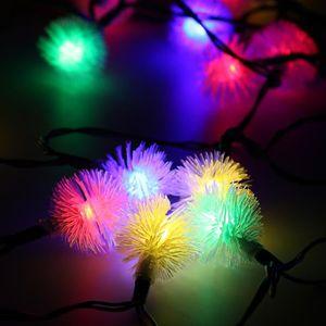 GUIRLANDE D'EXTÉRIEUR MULTICOLORE 5 M 30 LEDs Guirlande lumineuse lampe