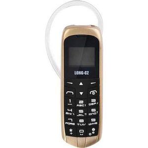 TELEPHONE PORTABLE RECONDITIONNÉ LONG-CZ J8 Mini téléphone avec fonction mains libr