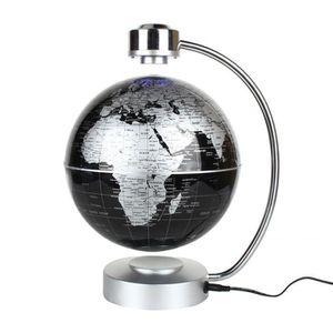 02eb9b7e76ccd2 OBJETS LUMINEUX DÉCO La Lévitation magnétique carte du monde flottant,