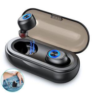 CASQUE - ÉCOUTEURS Ecouteur sans Fil Capsule TWS Oreillette Bluetooth