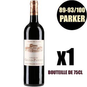 VIN ROUGE X1 Château Grand Pontet 2014 75 cl AOC Saint-Emili