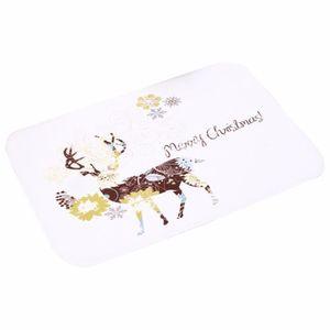 TAPIS Paillassons de bienvenue de Noël intérieurs tapis