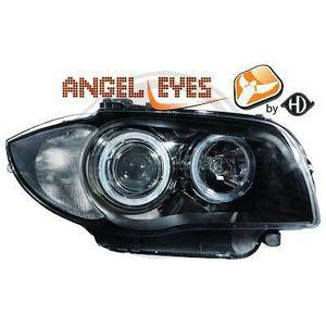 PHARES - OPTIQUES 1280580 ,  Paire de Feux Phares  angel eyes noir p