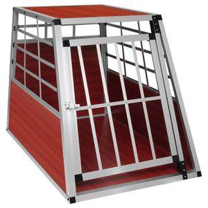 CAGE Cage de transport pour chien en aluminium,Boîte de