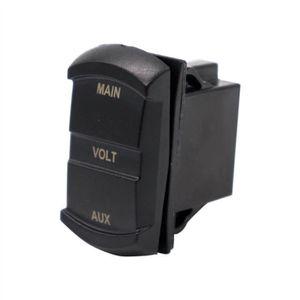PRISE ALLUME-CIGARE 10-60V LED Voltmètre De Voiture Numérique Double A